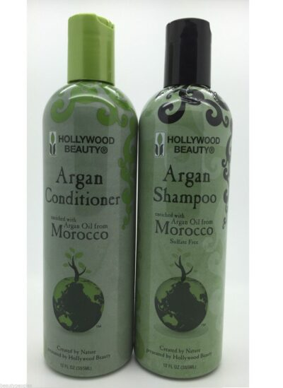 Morocco Argan Oil Shampoo & Conditioner by Hollywood Beauty